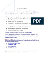 How to Apply for Passport