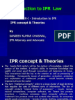 LLM Lecture IPR Concept and Theories