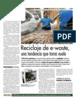 Reciclaje de e-waste, una tendencia que toma vuelo.