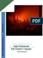 Kağıt Fabrikalarında Risk Yönetimi 2 Yangınlar
