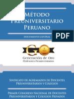 Metodo Preuniversitario Peruano