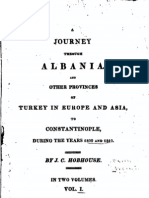 A journey through Albania and other provinces of Turkey..., Vol 1 - J.C. Hobhouse (1817)