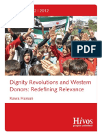 Hivos - Dignity Revolutions & Western Donors