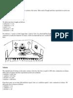Metric Units and Measurement