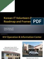 ICT Volunteers Program - Roadmap and Framework