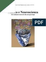 Musica e neuroscienza, dal sentimento musicale alla neuropsicologia.Tesina Nicolas Papalexis