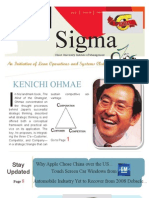 SIGMA March-12 Issue