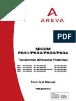 Micom 631 Technical Manual