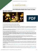 EPA, NY Dept of Education