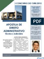 Apostila Administrativo (Cargo de Tecnico Jud)