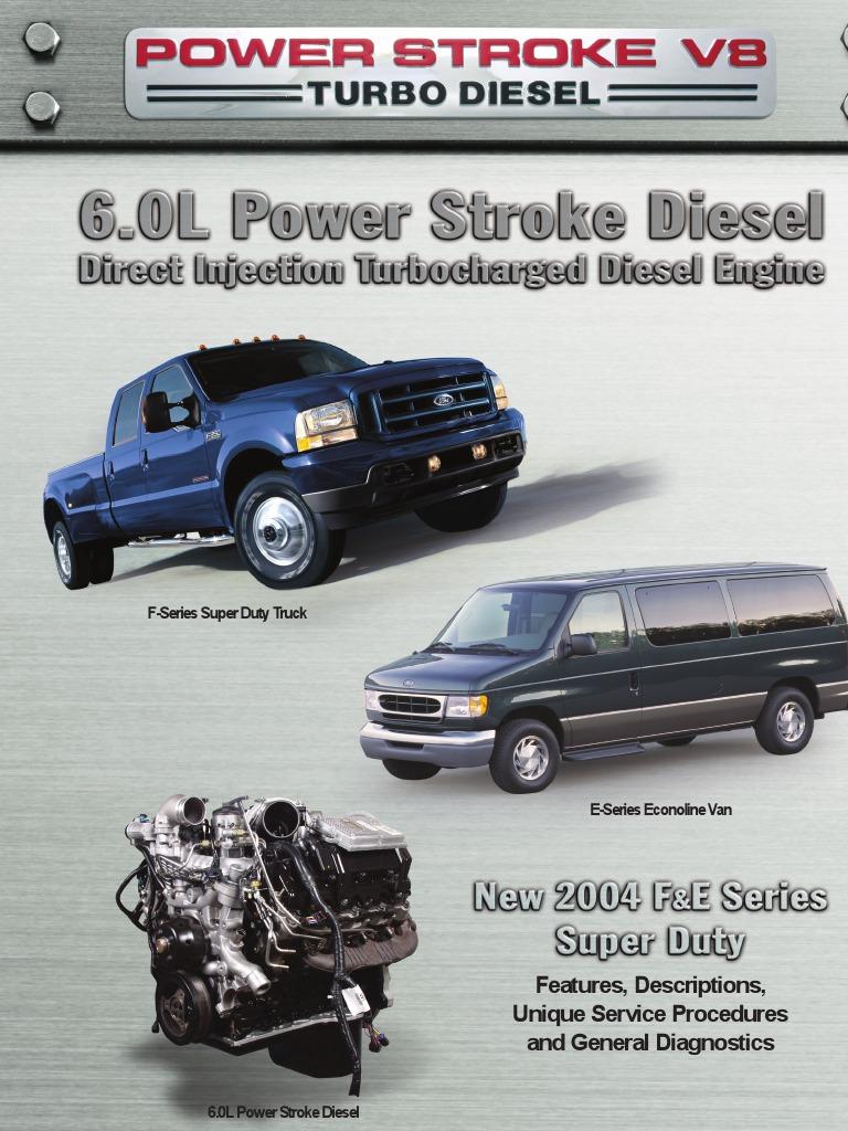 6 0l power stroke tech manual 2004 update throttle turbocharger rh scribd com 2007 Ford Powerstroke Diesel 2007 Ford Powerstroke Diesel