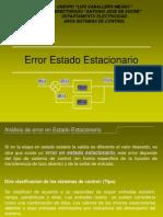 Análisis de error_estado estacionario