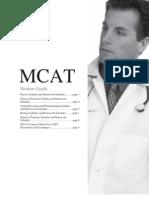 MCAT Student Guide Rev Apr 2012