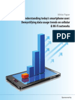 Informa Report - Understanding Today's Smartphone User - Demystifying Data Usage Trends on Cellular and WiFi Networks - February 27, 2012