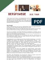 Konzept Berufswege Tour+