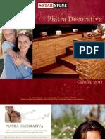 Catalog Piatra Decorativa Star Stone 2011