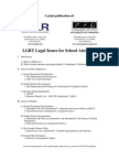LGBT School Law 101 - Full Doc