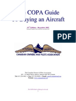 COPA Guide to Buying an Aircraft