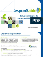 Responsable - Solucion Integral de Rs Para Universidades