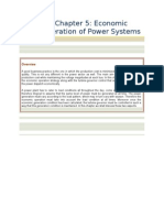 Economic Operation and Power System