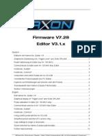 AXON Firmware V7.28