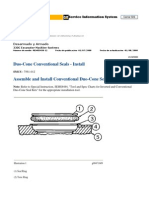 1. Duo-Cone Conventional Seals - Install