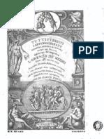 Tutti Trionfi Carri Mascherate o Canti - Vol 1