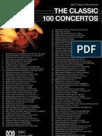 Top 100 Concerto List