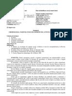 Criminologie Sinteza FR - Drept Craiova