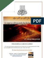 Conseils Sur La Securite Et La Prevention en Islam