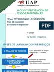 9 Estimacion de La Exposicion