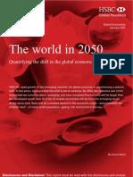 World in 2050 Hsbc