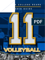 2011 PC Womens Volleyball Media Guide