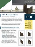 STEGO Modular Armor