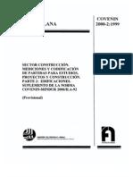 Covenin 2000 Edificicaciones Parte II 2000-2-1999