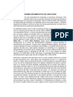 Resumen Argumentativo Del Disco Duro