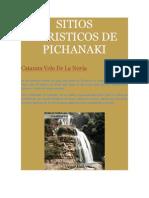 Sitios Turisticos de Pichanaki