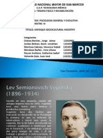 Enfoque Sociocultural Vygotsky