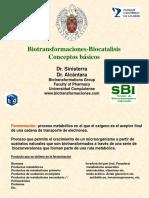 Biotransformaciones - Biocatalisis Conceptos básicos
