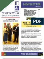 Island Pathways Newsletter Fall 2011
