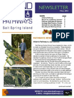 Island Pathways Newsletter Fall 2010