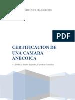 Informe Camara Anecoica