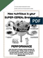COMPREHENSION Add Super Cereal