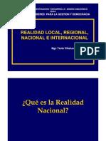 .Realidad Regional, Nacional e Internacional Jhansell