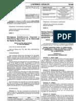 Norma Sanitaria- Rs 451-2006-Minsa (Prog Alimen Social)