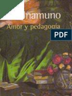 De amor y pedagogía, introducción
