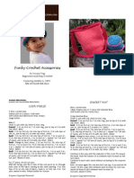 Funky Crochet Accessories Pattern