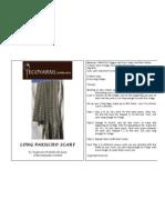 Long Pakucho Scarf Crochet Pattern