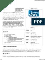 NHPC Limited - Wikipedia, The Free Encyclopedia