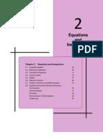 Equation and Inequation
